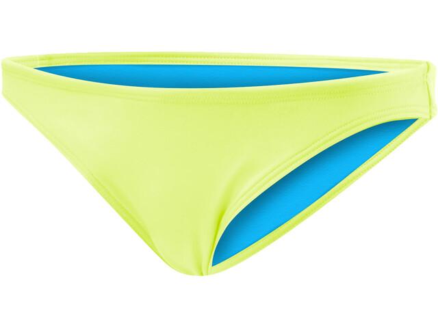 TYR Solid Micro Slip del bikini Mujer, fluo yellow